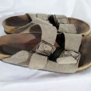 Birkenstock Shoes - Womens BIRKENSTOCK BOSTON GERMANY Suede Leather